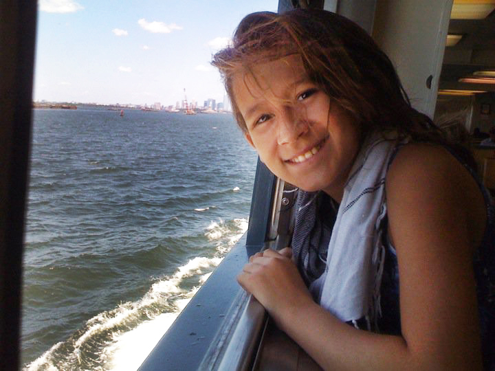 Patrena off to the Statue of Liberty in New York