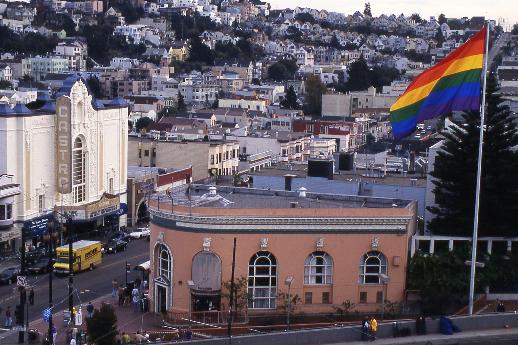 Castro Gay District in San Francisco