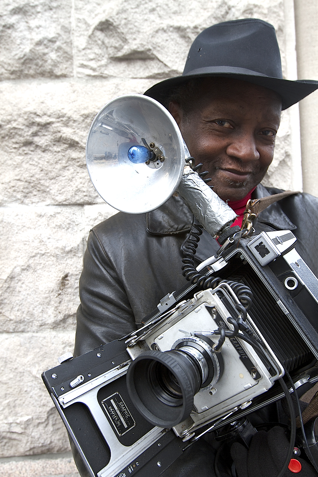 A Portrait of Photographer Louis Mendes