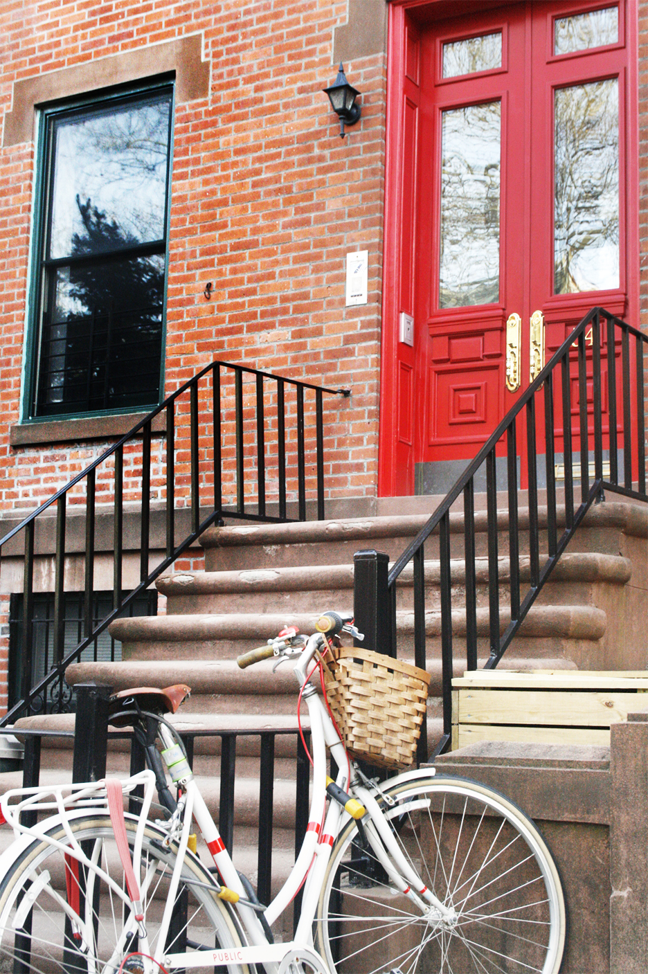 Red Door Home in Brooklyn