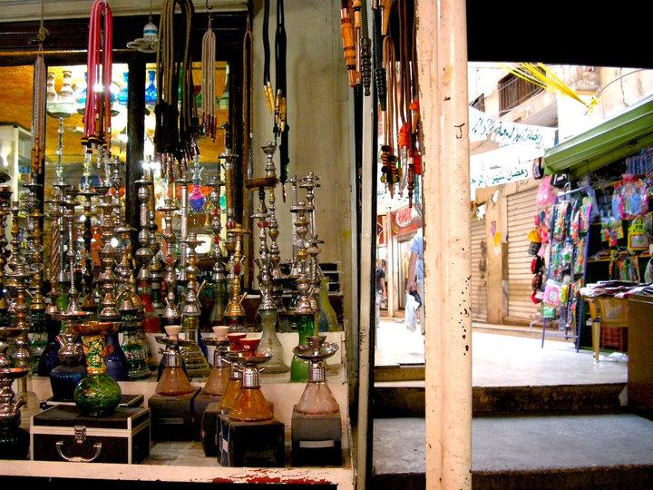 Hookahs in Baalbak Lebanon